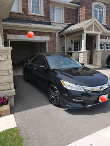 2017 Honda Accord Touring CVT (Lease Takeover)