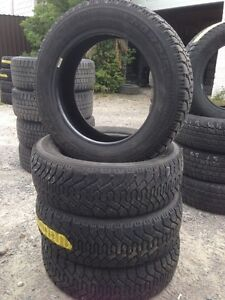 Four 205 55 R16 Goodyear Nordic Snow Tires