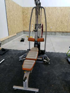 Cable fitness machine