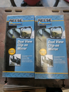 Reese Clip on Tow Mirrors