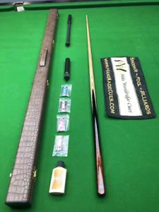 Mike Wooldridge Vintage Snooker Cue