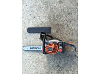 Hitachi petrol chain saw ! Like new
