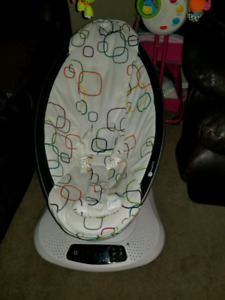 Plush mamaroo like new
