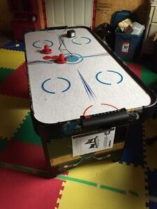 4' air hockey table