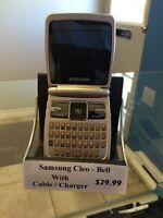Samsung Cleo - Bell no sim