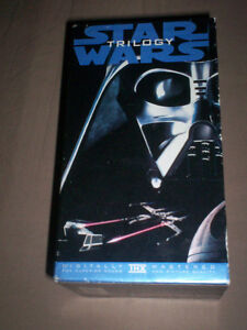 STAR WARS ORIGINAL TRILOGY VHS BOXSET UNALTERED VERSIONS