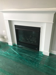 Natural Gas Fireplace - Never Used!!