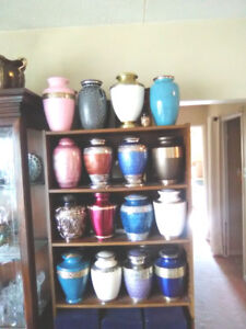 SELECTION OF ADULT CREMATION URNS FOR ONLY $175 TAXES IN