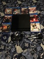 PS4 with all games+... $850