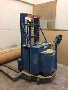 Blue Giant powered drive stacker