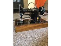 Singer 99k vintage antique sewing machine Jones stage prop