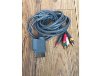 Xbox 360 - AV video and audio cable