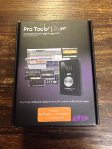 Interface audio Pro Tools/Apogee Duet Bundle