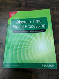 Discrete-Time Signal Processing. Third Edition.