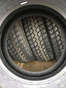 6 NEW LT225/70R19.5 TIRES FOR SALE 14 PLY