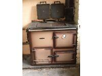 Rayburn nouvelle cooker/boiler