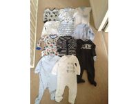 NEXT baby Sleepsuit bundle