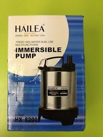 New Hailea HX8200 - Submersible Pump - 2000 Litres Per Hour hydroponic equipment