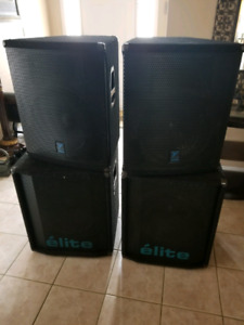 Stage speakers for sale
