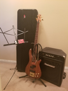 Bass, Amp and Accessories