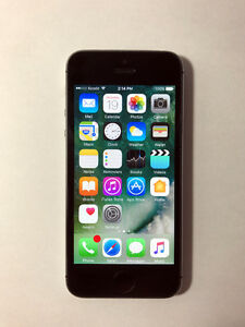 TELUS/KOODO Space Grey 16GB iPhone 5S (A- Condition)