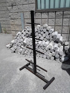 Weight Tree Stand Rack for 1inch or 2inch Weights