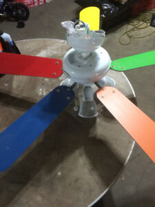 Colorful Ceiling Fans