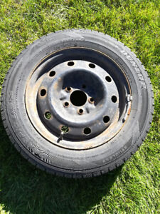 Pneus avec roues d'acier (Mazda 3)