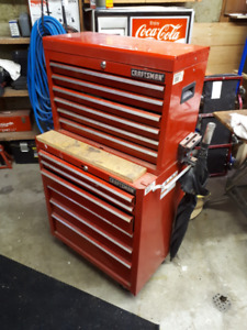 Craftsman Toolbox with Assorted Tools