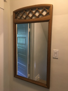 Art Shoppe solid wood mirror
