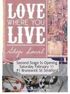 Second Stage Opening Saturday February 11