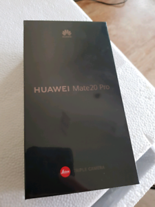 *NEW Sealed* Huawei Mate 20 Pro AUS 128GB Warranty Leica iphone
