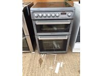 Hot point ceramic top cooker good condition free delivery £120