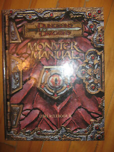 D and D Monster Manual Core RuleBook III