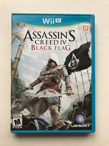 Jeux de Wii U Assassin's Creed IV Black Flag/ Wii U Game Assassi