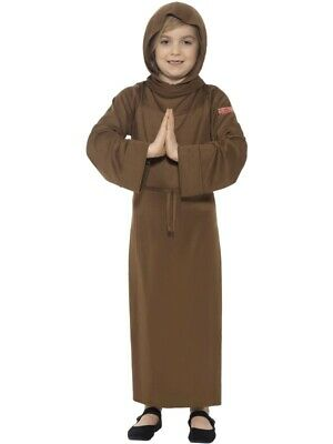 Kutte Mönch Pater Kinder - Kinder Mönch Kostüm