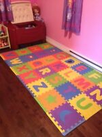 Anti Mildew Foam Alphabet Mats