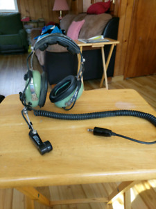 Helicopter/ultralight  headset.