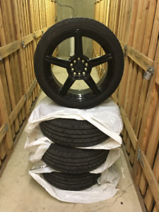 SPORT WHEELS WITH TIRES