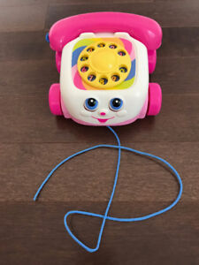 Fisher-Price Chatter Telephone - Pink