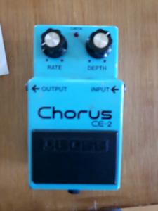 Boss chorus ce-2 fabriqué au Japon