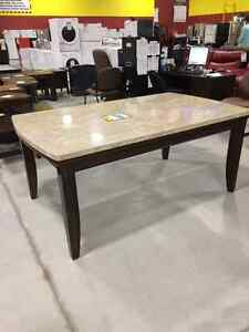 Eileen Dining table brand new $375 + 4 chairs trade for ps4/ipad