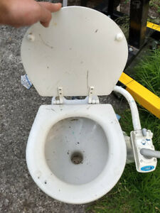 Sail Boat Toilet For Sale.