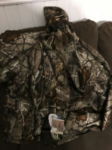 Camouflage Hunting Jacket - New - Deer - Bl