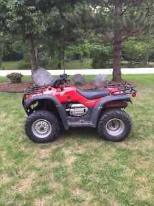 2006 Four Trax Trail Edition/MINT/With Plow 400cc