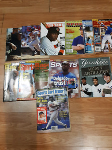 Baseball beckett magazines