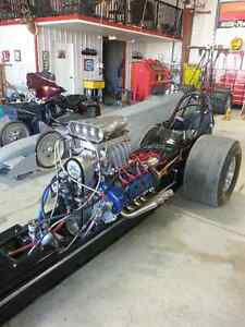 1972 Woody Gillmore front engine dragster with lincoln DOHC hemi