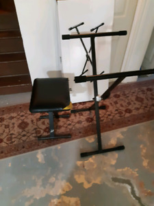 Keyboard stand(Profile KDS400) and seat.