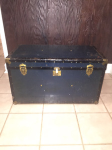 Antique Steamer Trunk - Chest