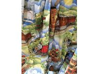 Thomas The Tank Engine curtains